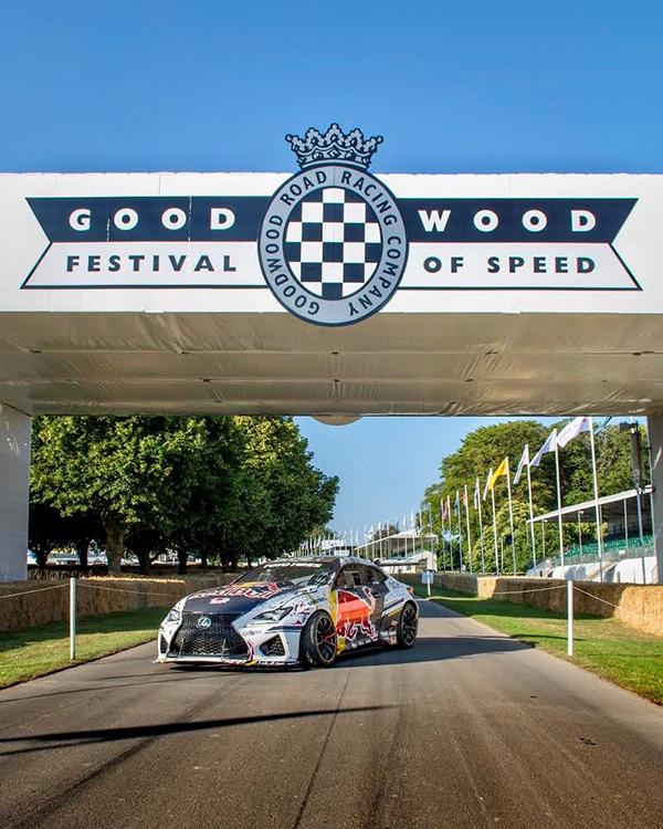 Lexus and Toyo Tires visit Goodwood   TOYO TIRES - Europe