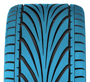 Refined Unidirectional Tread Design